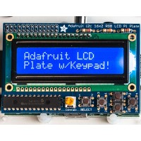 Adafruit Blue&White 16x2 LCD + keypad kit for Raspberry pi