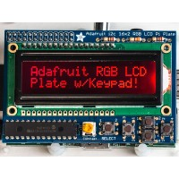 Adafruit RGB negative 16x2 LCD + keypad kit for Raspberry Pi