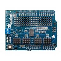 Adafruit 16-channel 12-bit PWM / servo shield I2C interface