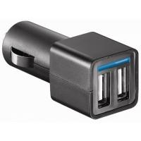DC/DC convertor met 2 USB ingangen 2 x 2.4A (4.8A max)