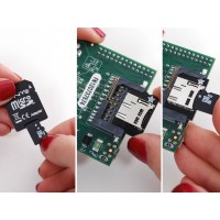 Low profile Micro SD card adaptor for Raspberry Pi