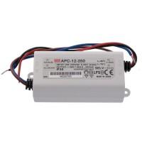 LED voeding constante stroom 12W, 9-36V/ 350mA CC