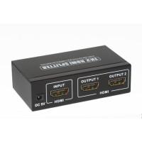 Mini HDMI 1*2 splitter 4K*2K