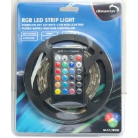 'Do-It-Yourself' Flexibele ledstrip set - RGB - 1,5m - IP44