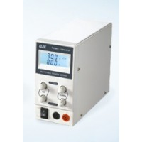Compacte labovoeding met LCD display - 0-30V / 0-3A single