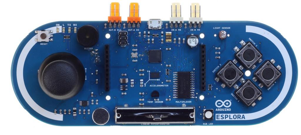 Ohmeron | Arduino Esplora | Distributor consumer electronics